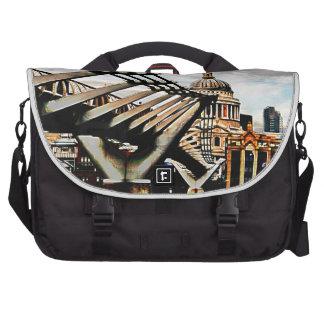 Millennium Bridge - London Laptop Shoulder Bag