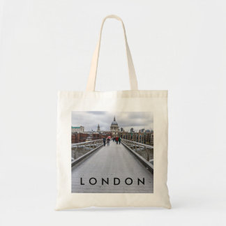 Millennium Bridge, London tote bag