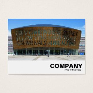 Millennium Centre, Cardiff, Wales Business Card