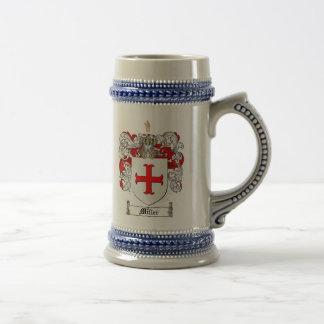 Miller Coat of Arms Stein (Scottish)