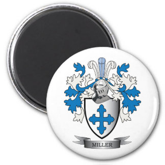 Miller Family Crest Coat of Arms Magnet