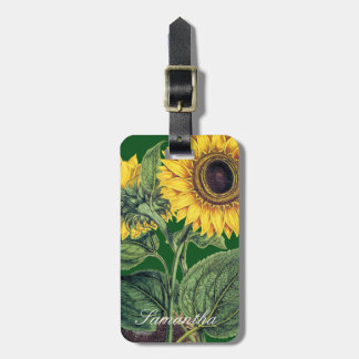 Miller: Sunflower Luggage Tag