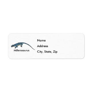 Millerosaurus Custom Return Address Labels