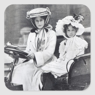 Millicent Duchess of Sutherland and her daughter Stickers