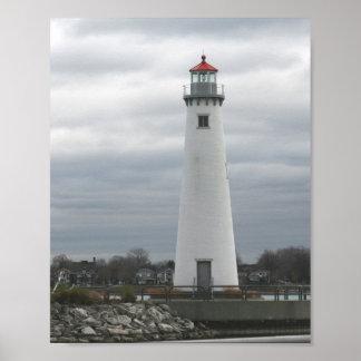 Milliken State Harbor Lighthouse Poster