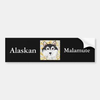 Million Dollar Alaskan Malamute Bumper Sticker