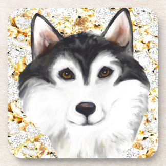 Million Dollar Alaskan Malamute Coaster