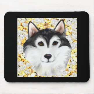 Million Dollar Alaskan Malamute Mouse Pad