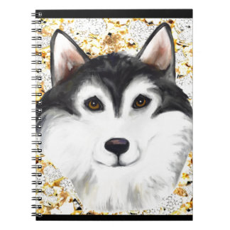 Million Dollar Alaskan Malamute Note Books