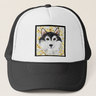 Million Dollar Alaskan Malamute Trucker Hat