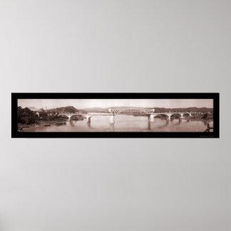 Million Dollar Bridge TN Photo 1917 Poster