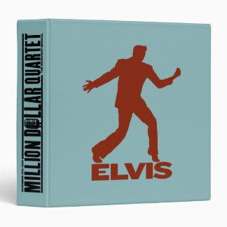 Million Dollar Quartet Elvis 3 Ring Binders