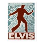 Million Dollar Quartet Elvis Type Postcard