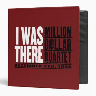 "Million Dollar Quartet ""I Was There"" Vinyl Binders"