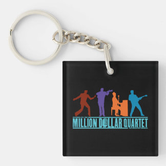 Million Dollar Quartet On Stage Keychain