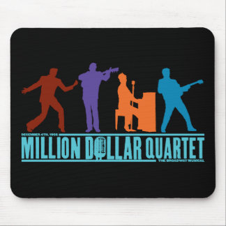 Million Dollar Quartet On Stage Mouse Pad