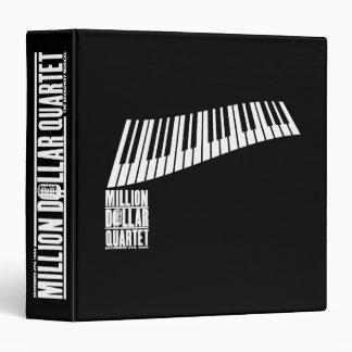 Million Dollar Quartet Piano - White Vinyl Binder