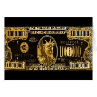 Million Dollar Wishes Card