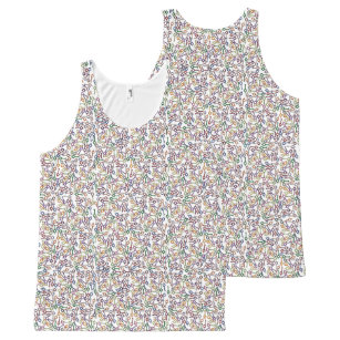 afed5bf1320d8 Million Thin Blue Line Police Handcuff Keys All-Over-Print Tank Top