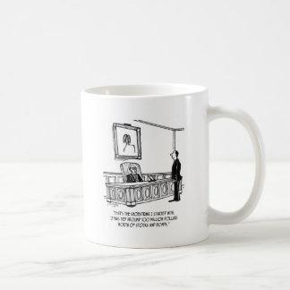 Millionaire Cartoon 1814 Coffee Mug