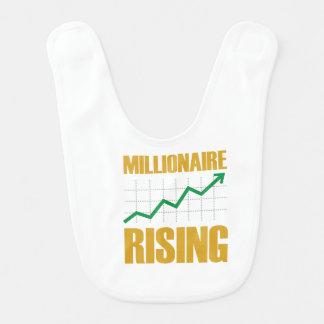 Millionaire Rising-Baby Bib