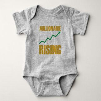Millionaire Rising Baby Jersey Bodysuit