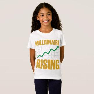 Millionaire Rising Girl's Jersey Tee