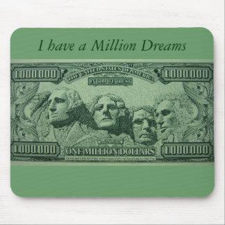 Millionaire wishes Mousepad