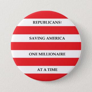 Millionaires 3 Inch Round Button