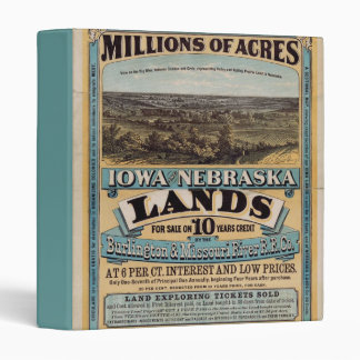 Millions of Acres Vinyl Binder