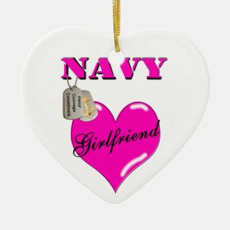 Millitary Navy Girlfriend Ornament