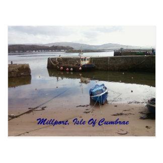 Millport, Isle Of Cumbrae - Low Tide Postcard