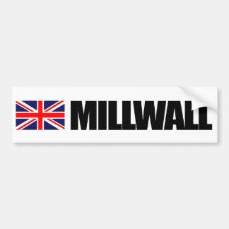 Millwall, British Flag Bumper Sticker