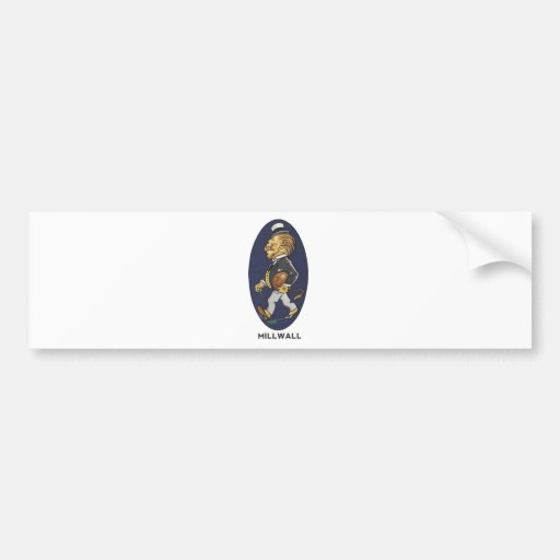 Millwall Football Club Bumper Sticker