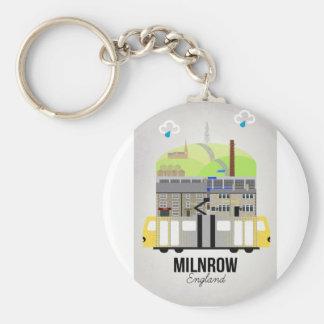 Milnrow Keychain