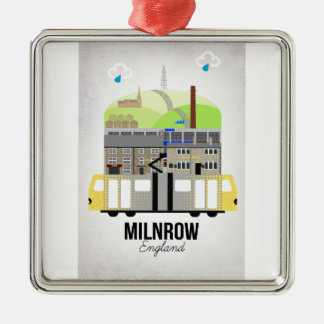 Milnrow Metal Ornament