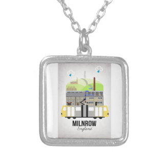 Milnrow Silver Plated Necklace