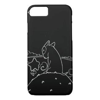 Milo Black & White (Original Bull Terrier Artwork) iPhone 7 Case
