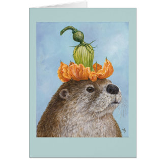 Milo David the river otter card