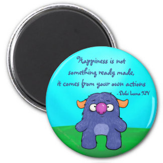 Milo the Monster, w/quote Magnet