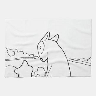 Milo & Ze (Original Bull Terrier Artwork) Towels