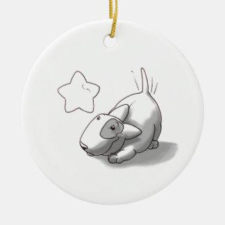 Milo & Ze Round Ceramic Ornament