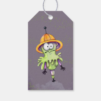 MILT ALIEN MONSTER CARTOON Gift Tag