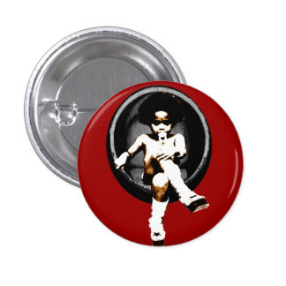 Miltant Toddler: Soul Egg 1 Inch Round Button