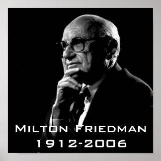 Milton.Friedman, Milton Friedman 1912-2006 Poster