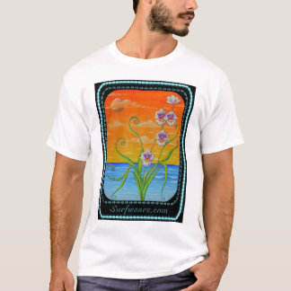 Miltonia Orchid Sunset T-Shirt