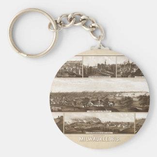 Milwaukee 1882 keychain