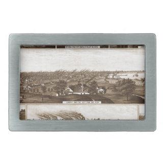 Milwaukee 1882 rectangular belt buckle