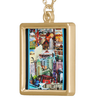 Milwaukee 2013 gold plated necklace
