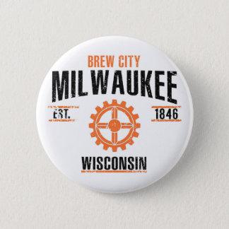 Milwaukee 2 Inch Round Button